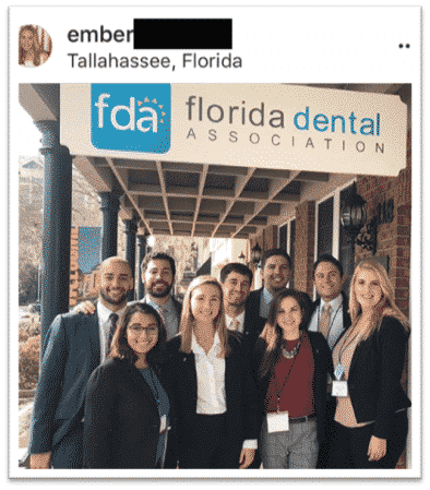 Future dentists at River Oak Dental on dentist day at Florida Dental Association