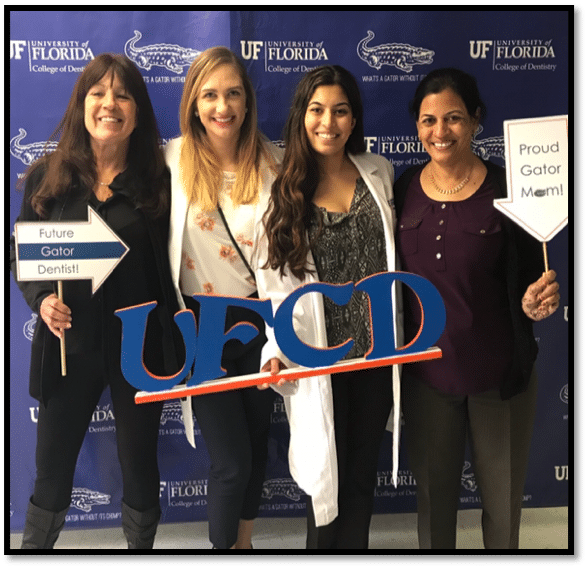 UF dental students happy and smiling for the camera and River Oak Dental in Palm Bay FL.