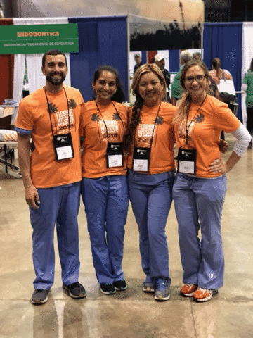 River Oak Dental team supports Mission of Mercy in Palm Bay FL