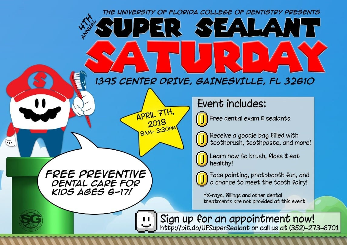 Super Sealant Saturdays with River Oak Dental. Keep those feet sealed and your smile bright
