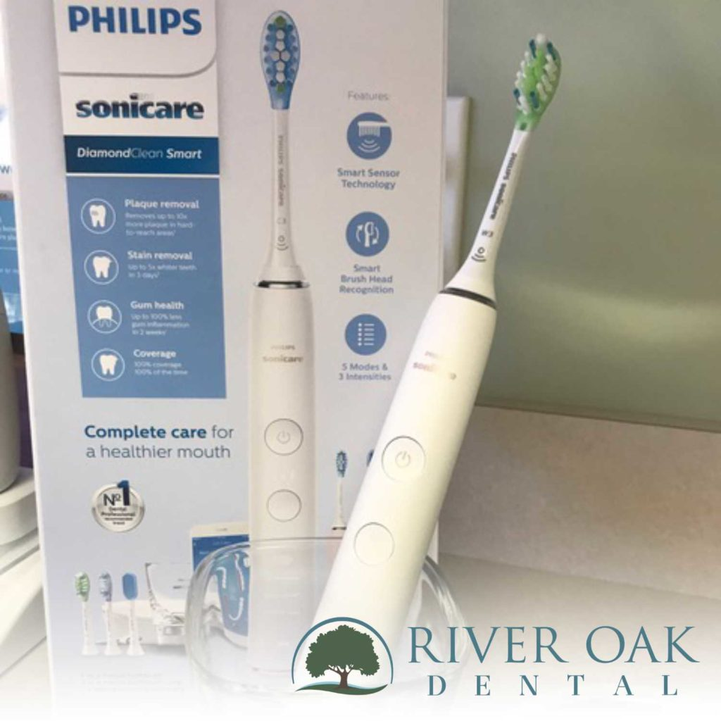 Philips Sonicare recommended by River Oak Dental in Palm Bay FL.