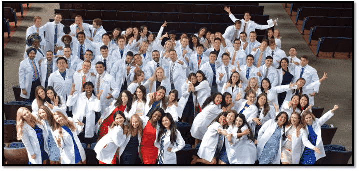 River Oak Dental Students and future dentists celebrating their Graduation