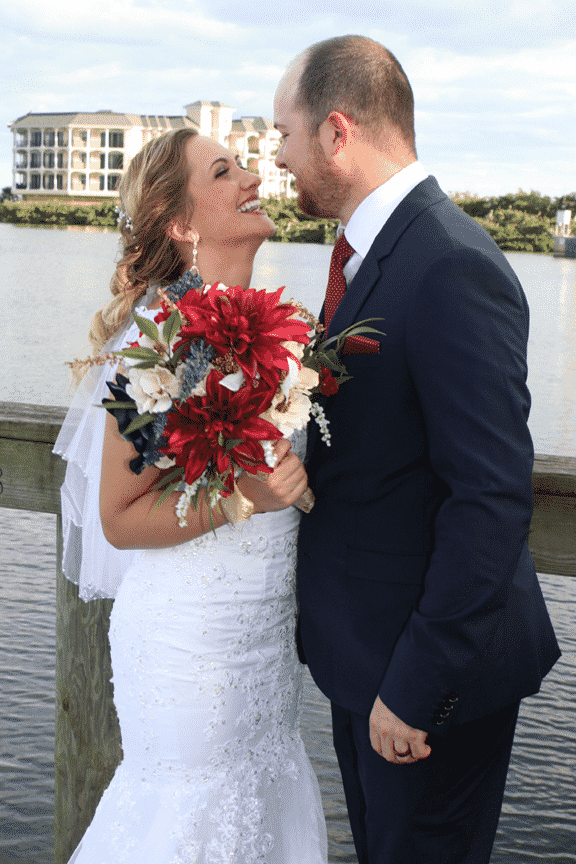 River Oak Dental Newly weds enjoying their healthy, happy smiles. Palm Bay FL.