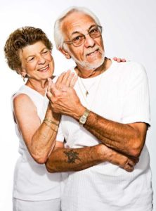 Elderly Couple undergone Professional Teeth Whitening