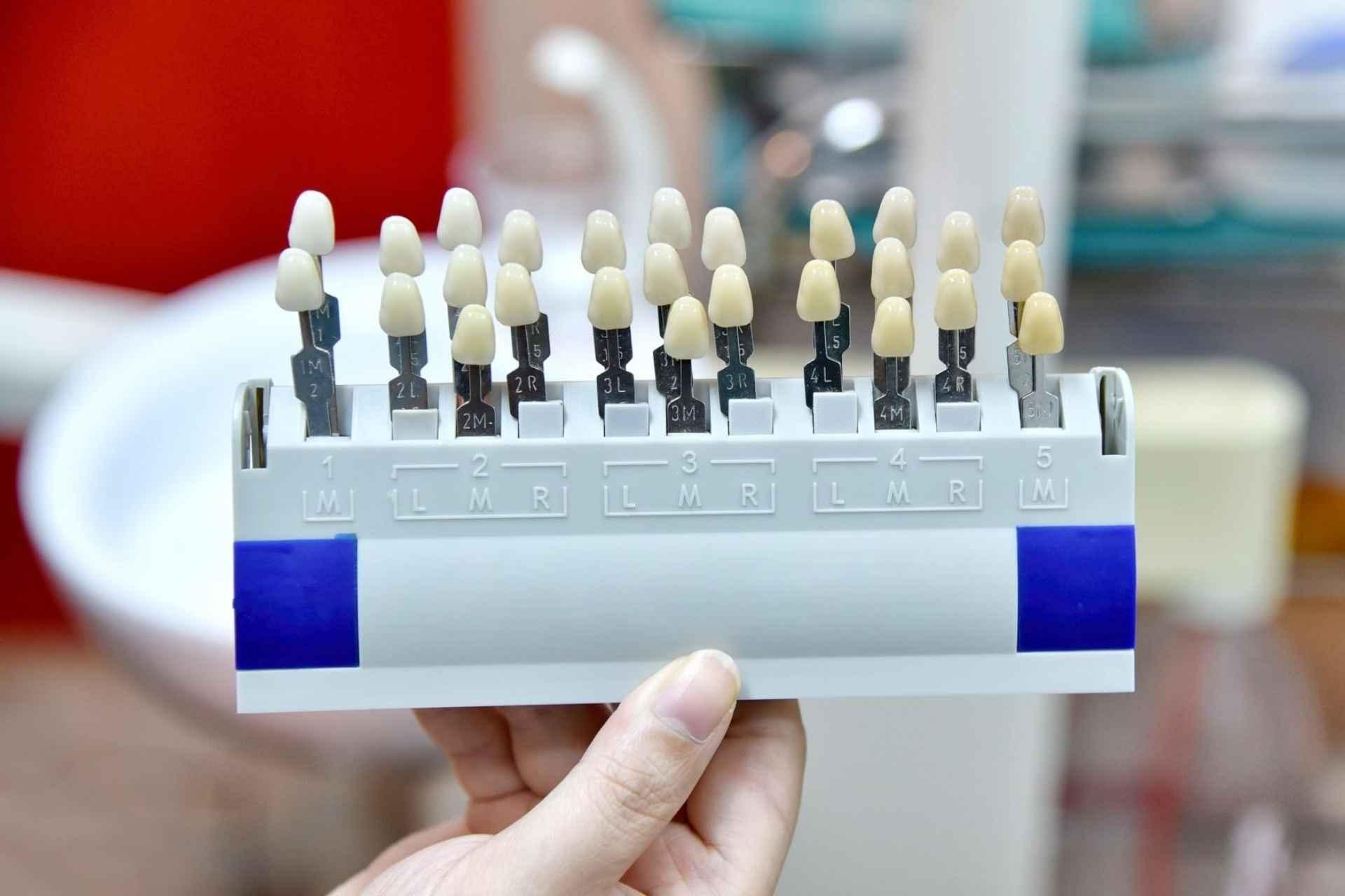 Artificial teeth models